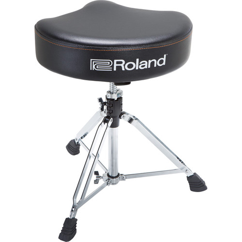 Roland Saddle Drum Throne with Rugged Vinyl Seat