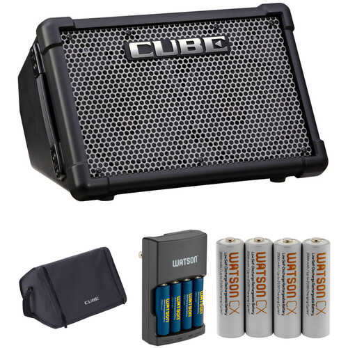 Roland Roland CUBE Street EX Kit with Batteries, Battery Charger & Case