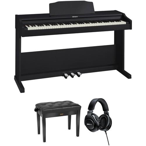Roland RP-102 88-Key Digital Piano and Home/Studio Kit (Black)