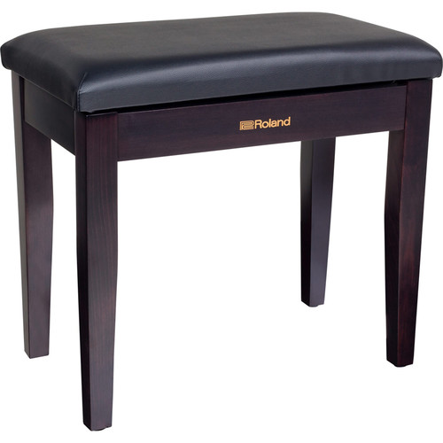 Roland RPB-100 Piano Bench with Storage Compartment (Rosewood)