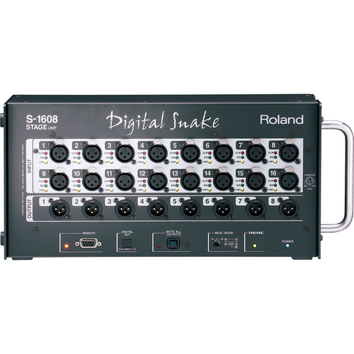 Roland S-1608 16x8 Stage Unit Digital Snake System