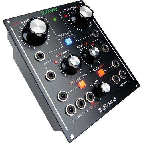 Roland SCOOPER Modular Scatter - Tabletop / Eurorack Module Effects Unit