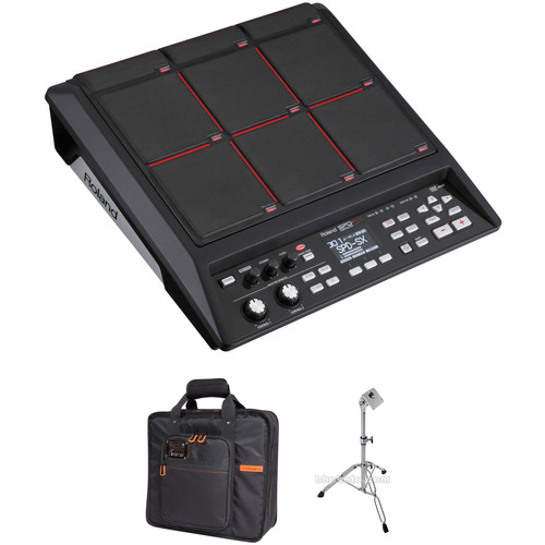 Roland SPD-SX Sampling Pad Kit with Stand and Carry Bag