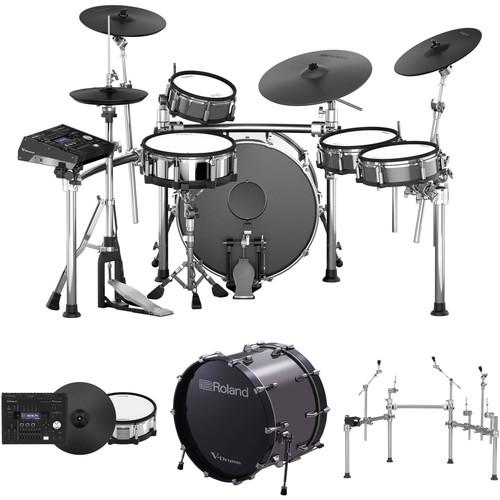 "Roland TD-50KVX 5-piece Electronic Drum Set with 22"" Bass Drum"