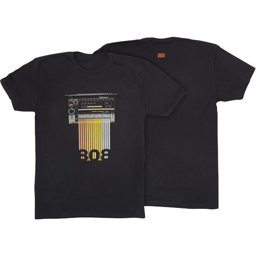 Roland TR-808 Crew T-Shirt (XX-Large, Black)