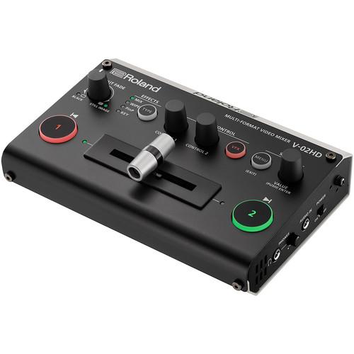Roland V-02HD PAC1 Video Mixer Bundle