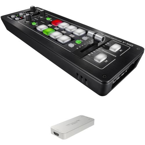 Roland V-1HD-W Web Streaming Bundle