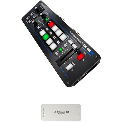 Roland V-1SDI-W Web Streaming Bundle
