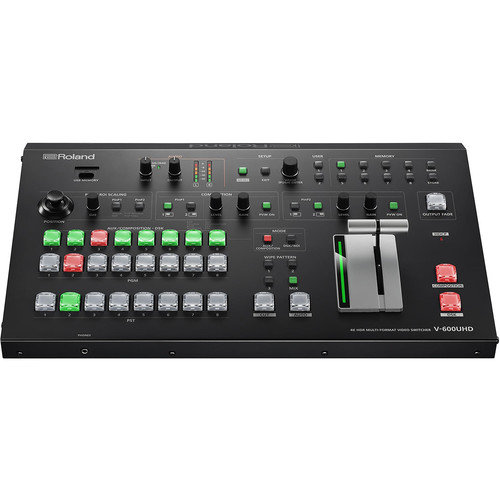 Roland 4K HDR Multi-Format Video Switcher