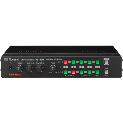Roland XS-42H Matrix Switcher 4 x 2 HDMI