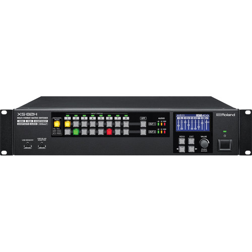 Roland XS-82H 8x2 Multi-Format AV Matrix Switcher