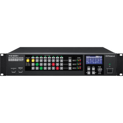 Roland XS-83H 8x3 Multi-Format AV Matrix Switcher