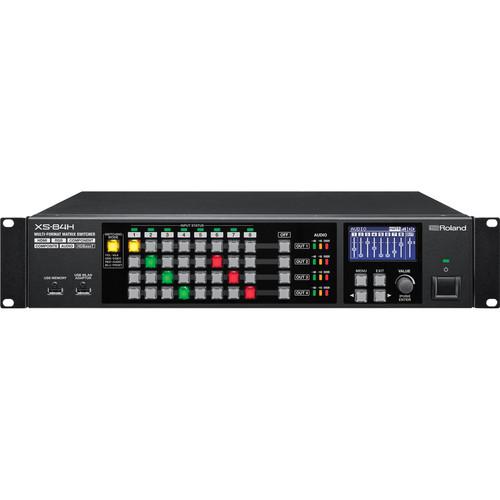 Roland XS-84H 8x4 Multi-Format AV Matrix Switcher