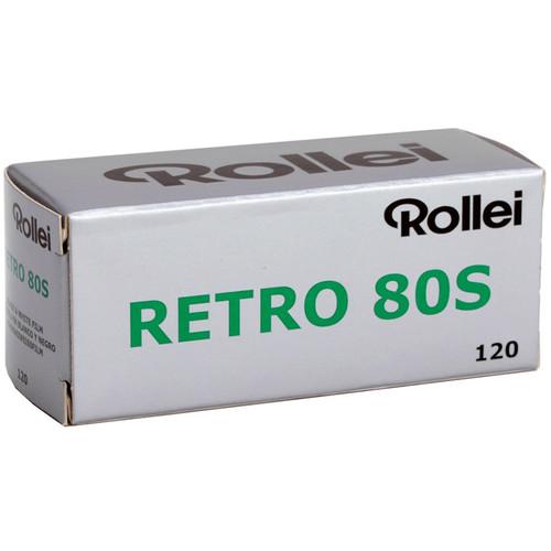 Rollei Retro 80S Black and White Negative Film (120 Roll Film)