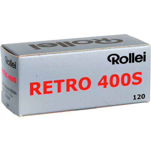 Rollei Retro 400S Black and White Negative Film (120 Roll Film)