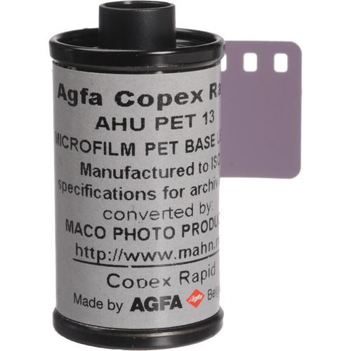 Rollei Copex Rapid Black and White Negative Microfilm (35mm Roll Film, 36 Exposures)