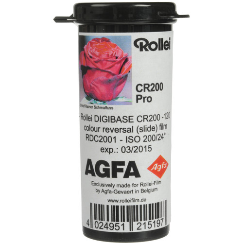 Rollei Digibase CR 200 PRO Color Transparency Film (120 Roll Film)