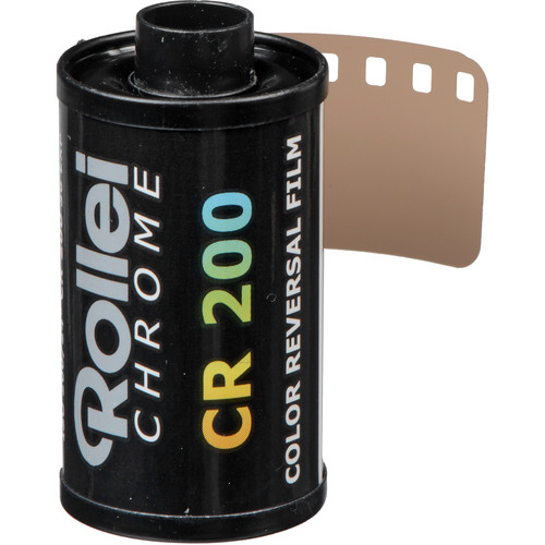 Rollei Digibase CR 200 PRO Color Transparency Film (35mm Roll Film, 36 Exposures)