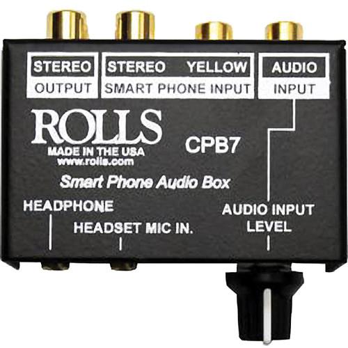 Rolls CPB7 Smartphone Breakout Box