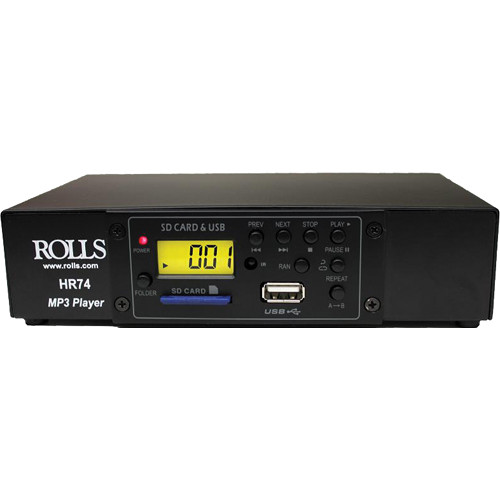 Rolls HR74 MP3 Card Reader and Player