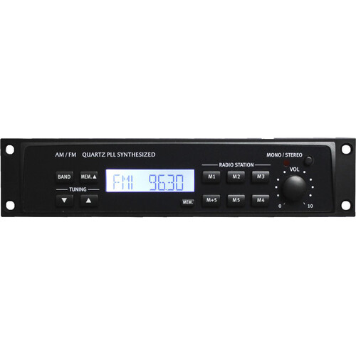 Rolls HR78X Digital AM/FM Tuner with XLR Output