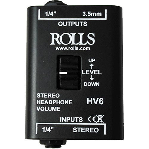 Rolls HV6 Stereo Headphone Volume Control