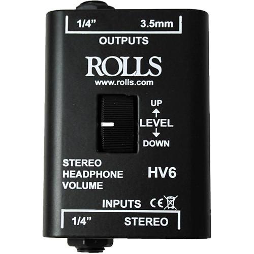Rolls HV6 Stereo Headphone Volume Control