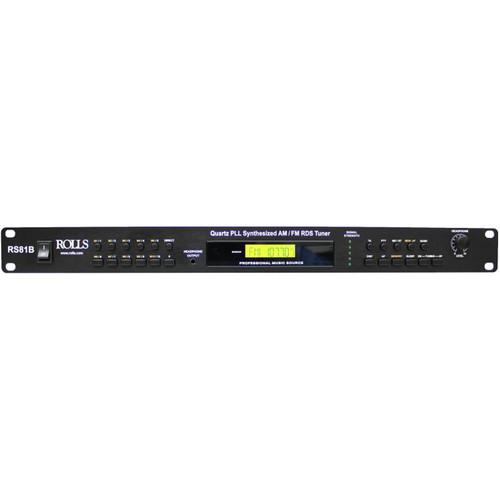 Rolls RS81B Quartz PLL Synthesized AM/FM Tuner