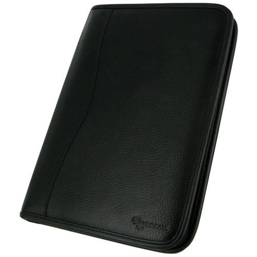 rooCASE Executive Portfolio Case Cover for Samsung Galaxy Tab 2 10.1 (Black)
