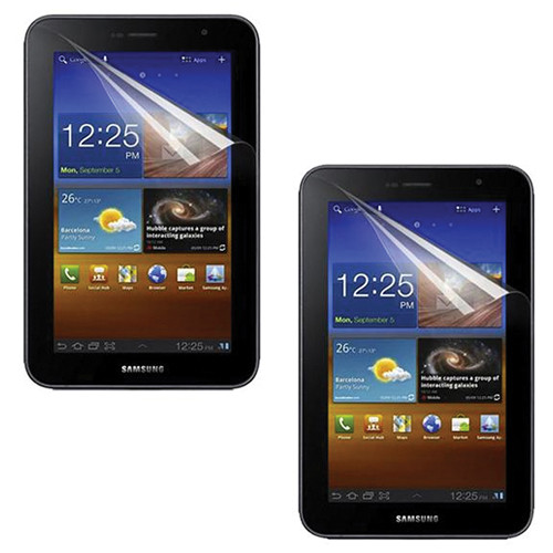 rooCASE 2-Pack Clear HD Invisible Screen Protectors For Samsung Galaxy 7.0 Plus Tablet