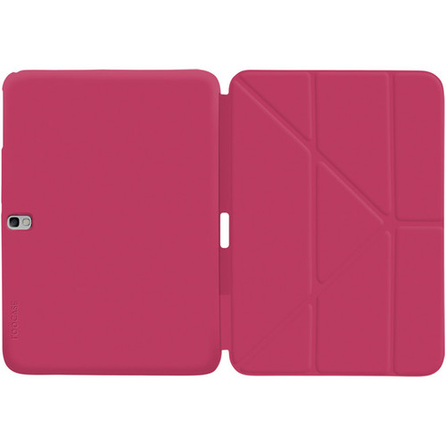 "rooCASE Origami SlimShell Case Cover for Samsung Galaxy Tab Pro/Note 10.1"" (2014 Edition) (Magenta)"
