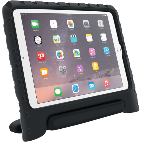 rooCASE KidArmor Protective Case for iPad Air 2 (Black)