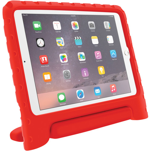 rooCASE KidArmor Protective Case for iPad Air 2 (Red)
