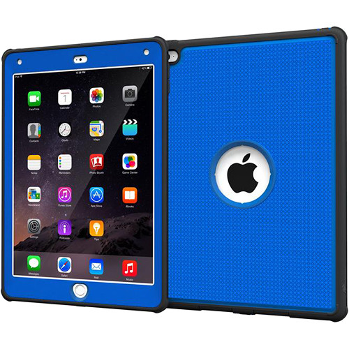 rooCASE VersaTough Case for Apple iPad Air 2 (Palatinate Blue)