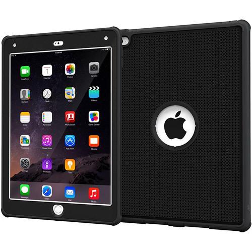 rooCASE VersaTough Case for Apple iPad Air 2 (Granite Black)