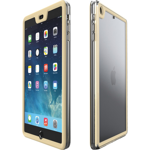 rooCASE Gelledge Case for iPad mini 1/2/3 (Gold)