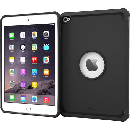 rooCASE Executive Tough Case for Apple iPad mini 4 2015 (Granite Black)
