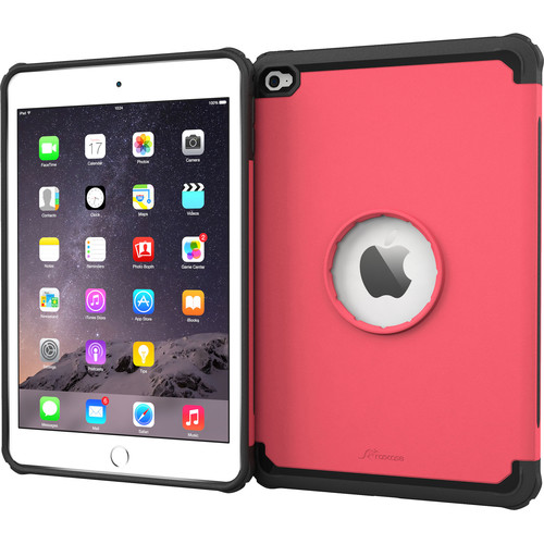 rooCASE Executive Tough Case for Apple iPad mini 4 2015 (Coral Pink)