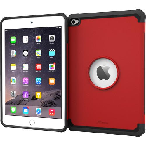 rooCASE Executive Tough Case for Apple iPad mini 4 2015 (Carmine Red)