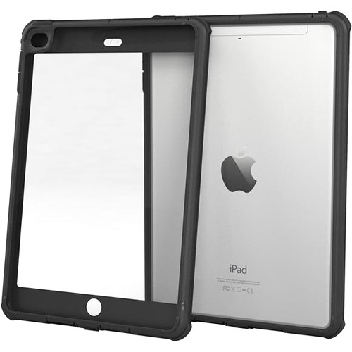 rooCASE Glacier Tough Case for Apple iPad mini 4 2015 (Granite Black)