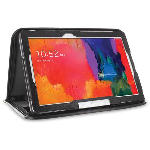 "rooCASE Executive Portfolio Case for Samsung Galaxy Tab Pro / Note 10.1"" (2014 Edition) (Black)"