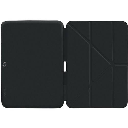 "rooCASE Origami SlimShell Case for 10.1"" Galaxy Tab 3 (Black)"