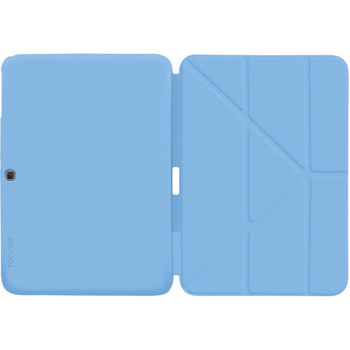 """rooCASE Origami SlimShell Case for 10.1"""" Galaxy Tab 3 (Blue)"""