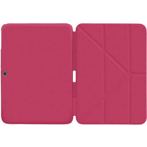 """rooCASE Origami SlimShell Case for 10.1"""" Galaxy Tab 3 (Magenta)"""