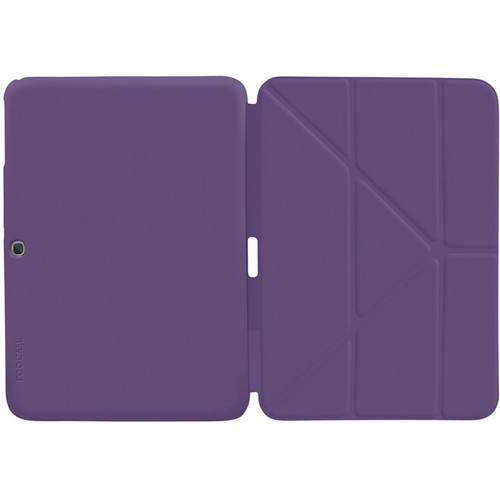 "rooCASE Origami SlimShell Case for 10.1"" Galaxy Tab 3 (Purple)"