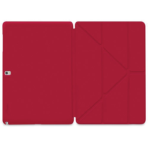 "rooCASE Origami SlimShell Case for Samsung Galaxy Tab Pro and Note Pro 12.2"" (Red)"