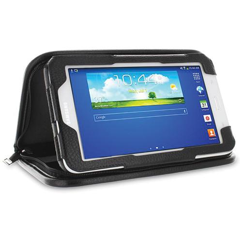 "rooCASE Executive Portfolio Case for Samsung Galaxy Tab 3 Lite 7.0"" (Black)"