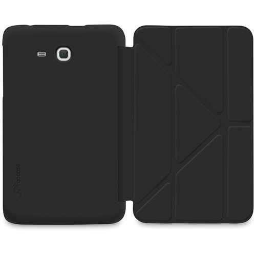 "rooCASE Slim Shell Origami Case for Samsung Galaxy Tab 3 Lite 7"" Tablet (Black)"