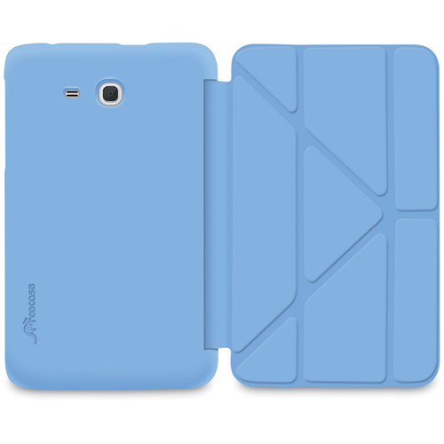 "rooCASE Slim Shell Origami Case for Samsung Galaxy Tab 3 Lite 7"" Tablet (Blue)"
