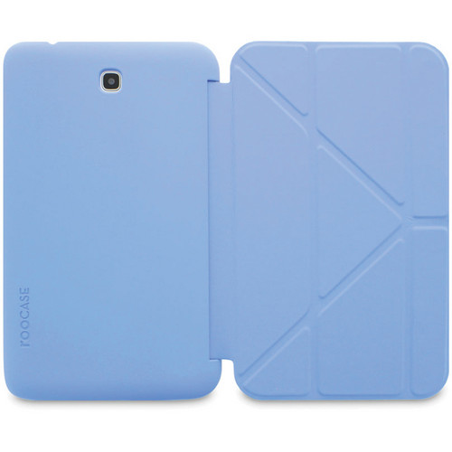 "rooCASE Origami SlimShell Case for 7"" Galaxy Tab 3 Tablet (Blue)"